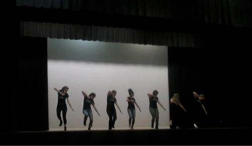 The Warren Wilson Step Team Performing at the UNCA Step Tournament Last Weekend.