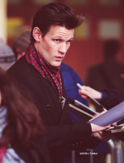 kifster:  Matt outside BBCRadio1 ~ 18 Dec 2012