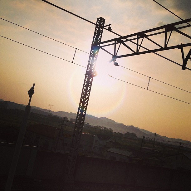 おはようございます!  #photooftheday #morning #ashikaga #sky #sunrise #goodmorning