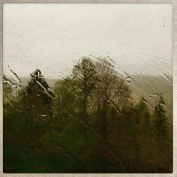 The sun is over. Rain, rain and only rain… #Norway  (en Hønefoss)