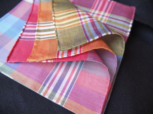 Cotton Pocket Square - By Simonnot Godard