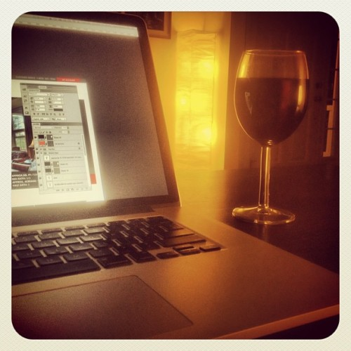 Recovering Workaholic #vino