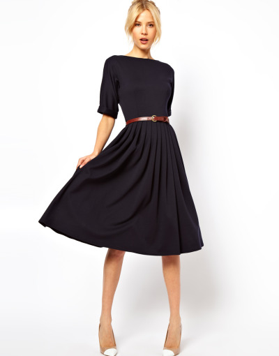 mirnah:  Wishlist: ASOS Midi Dress With Full Skirt And Belt