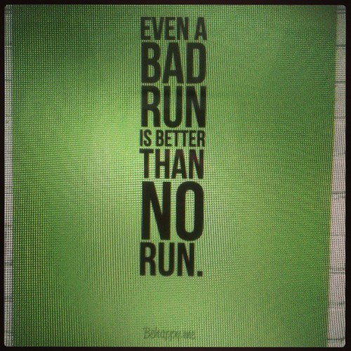 Just RUN. #fitfluential #runchat #runnerds