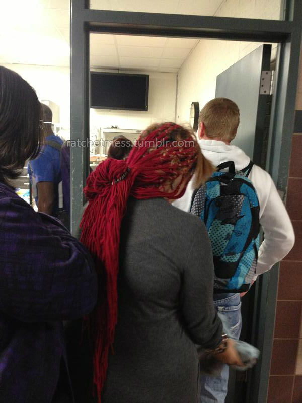 Im a man, and I dont know too much about weave but um………IS THAT SHIT MADE OF FUCKING YARN?