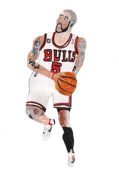 Chicago Bulls - Nickyland. Ffffound at http://bit.ly/XWUL0S