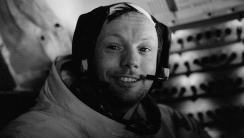 Neil Armstrong's 'one small step': Controversy erupts over moonwalk quote     Armstrong's historic quote, 'That's one small step for man, one giant leap for mankind,' might have been decided upon before he stepped onto the moon.