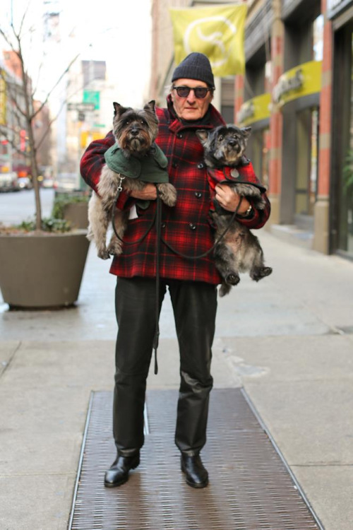 "humansofnewyork:   ""You want me to hold my boys?"""