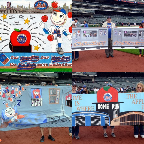 mets:  Here are your 4 Banner Day finalists! You have until the end of the 5th inning to vote for the winner. http://atmlb.com/14dDfJI