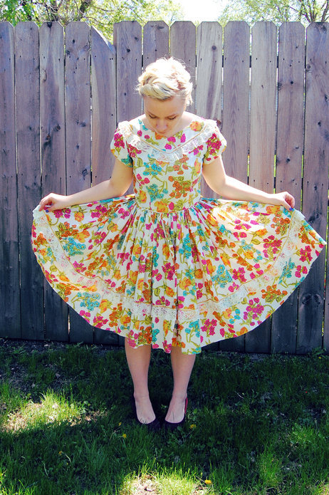 Is it garden party season yet? Via the ModCloth Style Gallery.