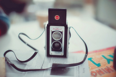 serendipity-precious:  Nifty film camera by `Jess on Flickr.