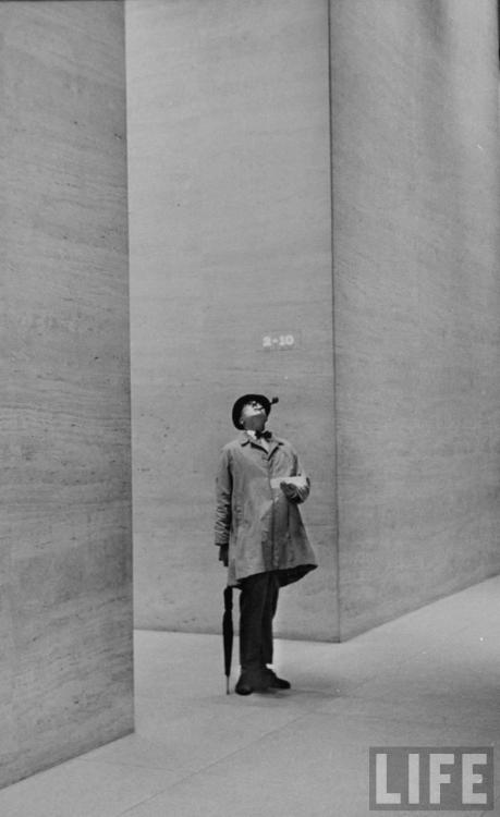 Jacques Tati- photographed by Yale Joe MON ONCLE