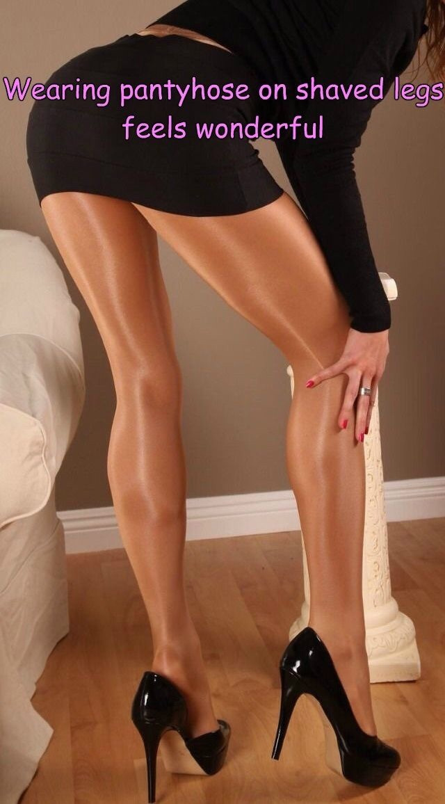 nylon legs gallery