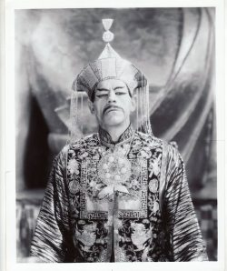 beautyandterrordance:  Boris Karloff in The Mask of Fu Manchu (1932)