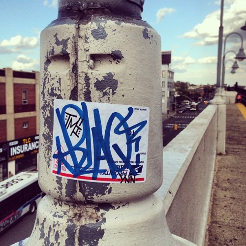 Wait for the 7 train #blaq88 #blaq #tmicrew #ynn #stickers #slaps