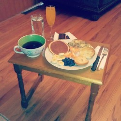 My no-school-snowday brunch :-)