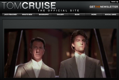 32 years of filmmaking…how many different Tom Cruise movies can you spot? http://clicky.me/TomCruiseCareerReel  -TeamTC