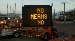 visual-poetry:  »no means no« [via]