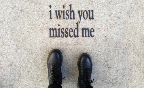 i wish you missed me // San Francisco