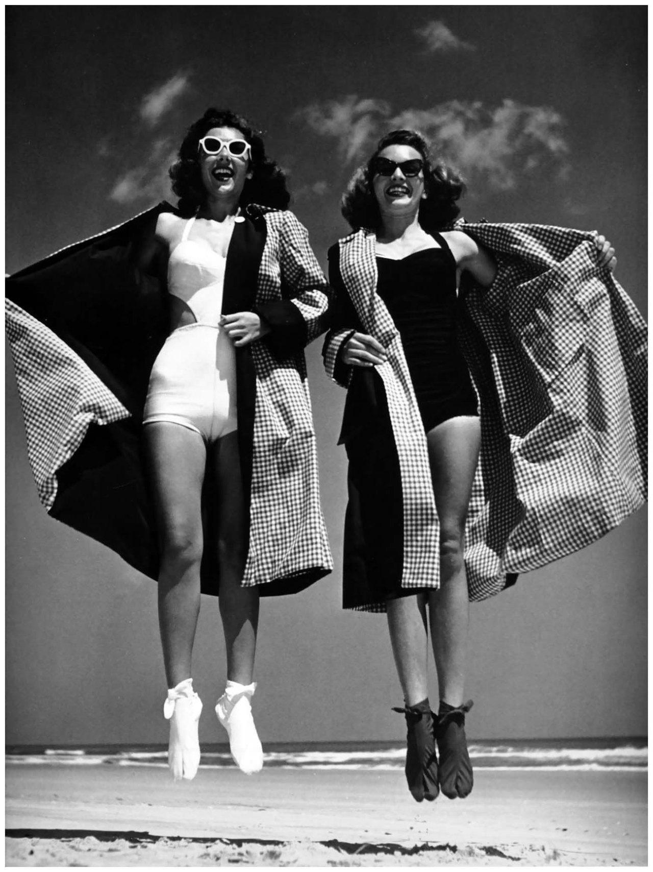 Daytona Beach, Florida. 1946. Photographer: Phillipe Halsman