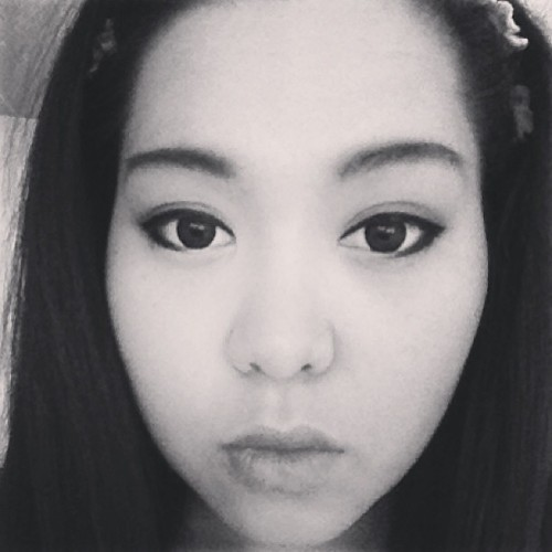 #black #white #photo #asian #lens #makeup #eyes #bold #hmong #hmoob #fresno #california #goodnight #hair