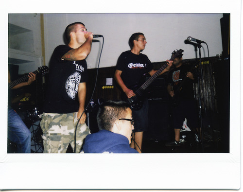 Not Without Fighting #2 At the opening for Prowler in Cacilhas, 2011.