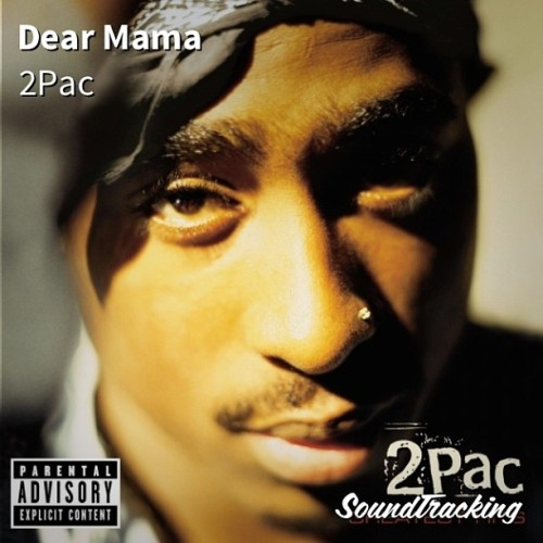 "Happy Mother's Day! #nowplaying #allday ♫ ""Dear Mama"" by 2Pac 