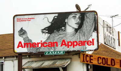 One of our billboards in Los Angeles, California.