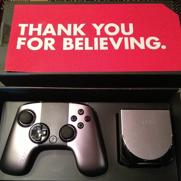 My #ouya it's here.