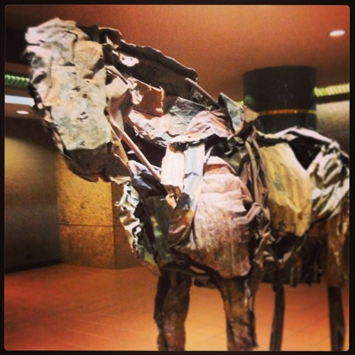 I dig the #horse statue I see almost every day.