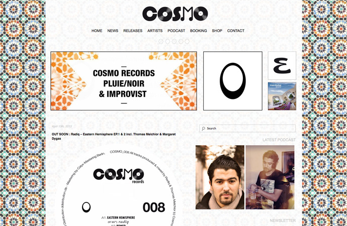 BASOR - New Cosmo Records websitehttp://cosmorec.com