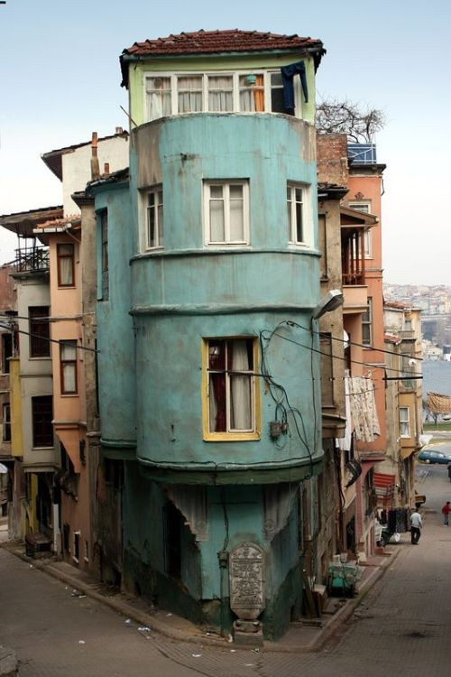 Corner of Balat, Istanbul  | by © synaps | via evysinspirations