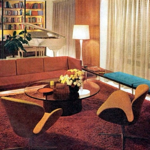 #Ladies #Home Journal - March, #1964 #vintage #interior http://on.fb.me/12p1wvc
