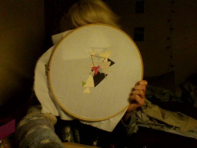 Bitchin' an' stitchin' all night long.