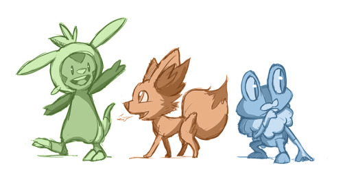 I couldn't resist! Chespin, you have my heart