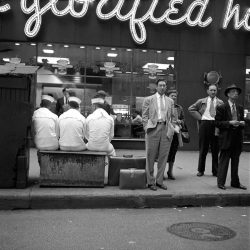 """ Sailors — Killing Time ""  ….  Chicago [1956] … Photographer:  Vivian Maier"