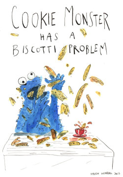 Cookie Monster has a biscotti problem (via @mashable) See more here