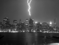 tumblropenarts:  ESB Hit by Lightning, NYC, US by Bobby Chitrakar