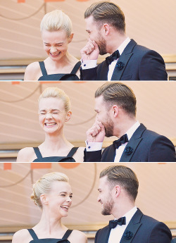 Carey Mulligan & Justin Timberlake | 'Inside Llewyn Davis' Premiere - The 66th Annual Cannes Film Festival [May 19, 2013]  LOOK AT HER CUTE LITTLE FACE