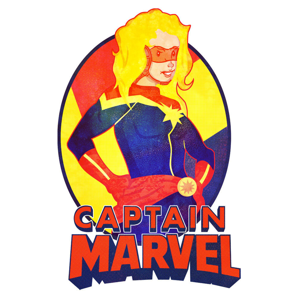 "stem-cell:  Captain Marvel - ""Don't you 'lady' me, son. I'm an Avenger!""—-Hopefully coming to my WLF shop soon. Hopefully. LW!"