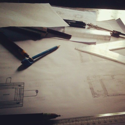 "Goodmorning Btech. -___-""  #archistuff #architecture #drafting"