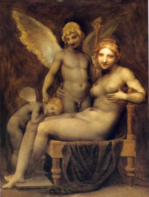 colourthysoul:  Pierre-Paul Prud'hon - Venus, Hymen and Love