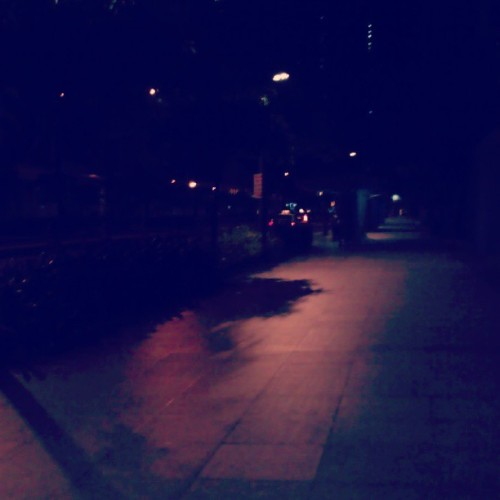 Walking along #Ayala Ave. Everything seems to be.#nostalgic, #melancholic and #wistful. Why I can't get enough of my #wanderlust that needs to be fulfilled? Why? The feeling that I don't belong here or anywhere.  (at Ayala Avenue)