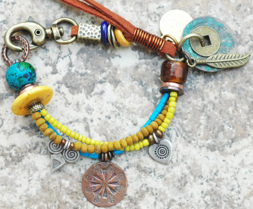 Soulful and Exotic Everyday Charm Bracelet click here to purchase