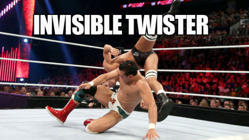 WWE Invisibles! Sometimes what you don't see in a WWE pic can be just as interesting as what you do see!