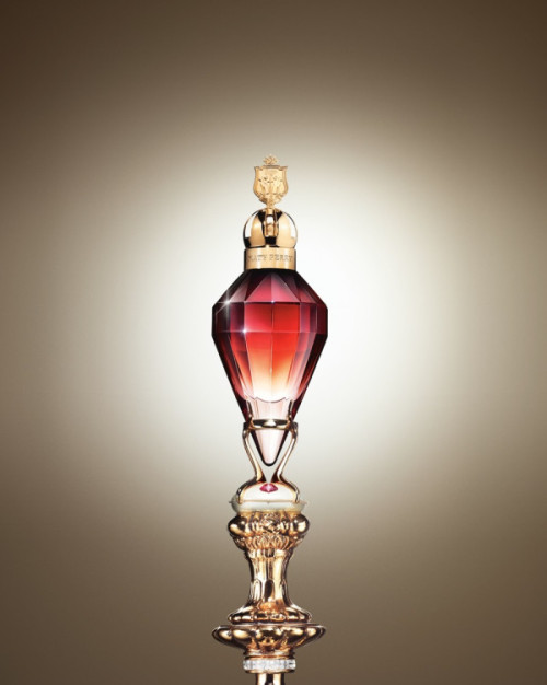 @katyperry OK! I have been working on my 3rd fragrance for over a year & want to unveil the look NOW! What do u think?! http://twitpic.com/cnopag