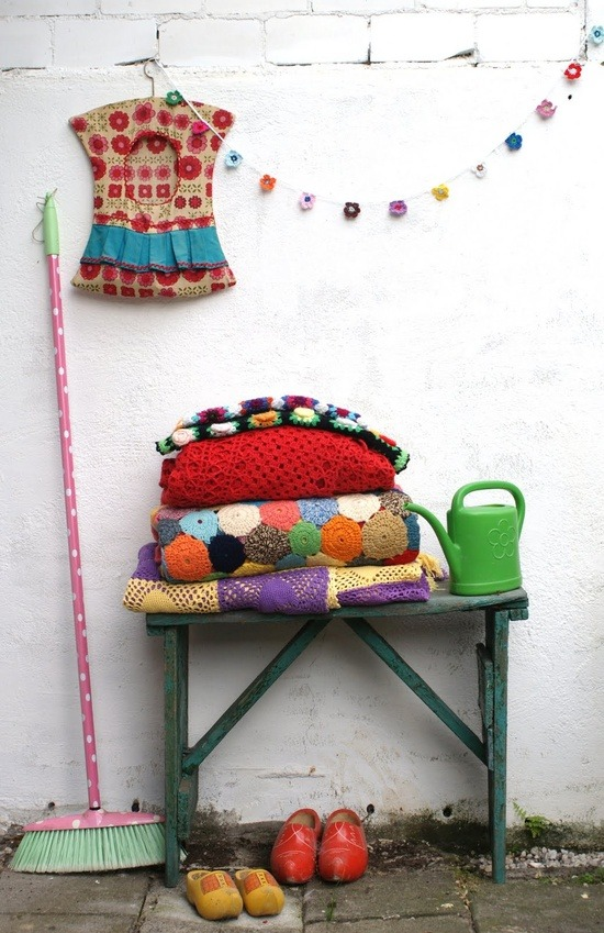 Crochet porn for your dash via the always awesome Dutch blog Ing-Things