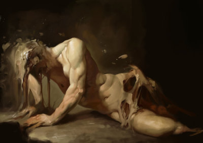 #roberto_ferri, #painting, #classic, #melt