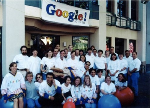 The First Google Team