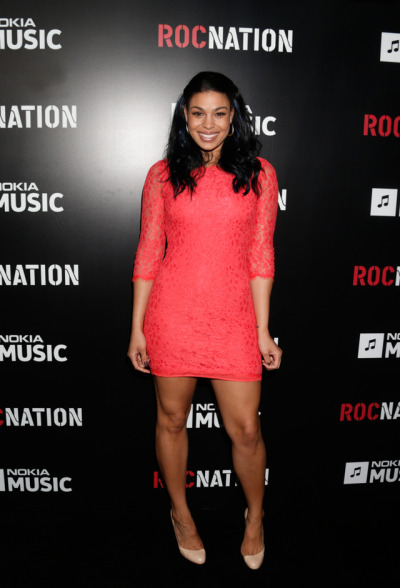 Jordin Sparks at the Roc Nation Pre-Grammy Brunch